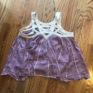 Free People Large Purple Tank Top